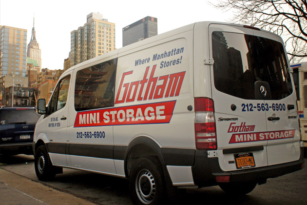 Gotham Storage Free Moving Truck